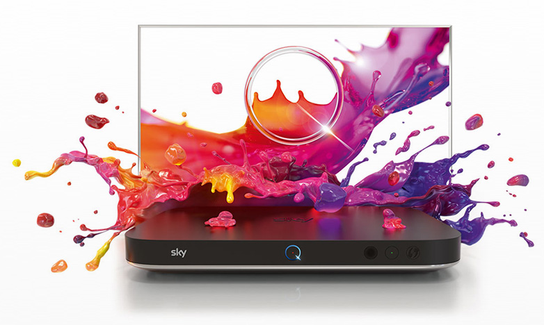 Introducing Sky Q with Fluid Viewing