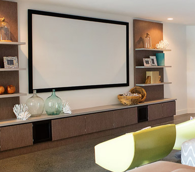 Home cinema systems with surround sound