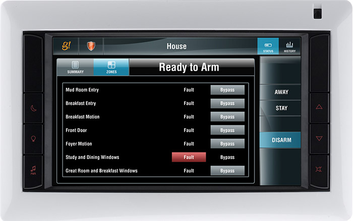 Elan Security for Home security automation systems